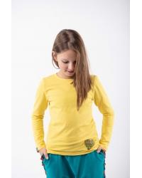 Bluse Be My Valentine Classic Kids Yellow