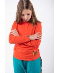Bluse Be My Valentine Classic Kids Orange
