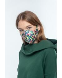 Mundschutzmaske Pixel